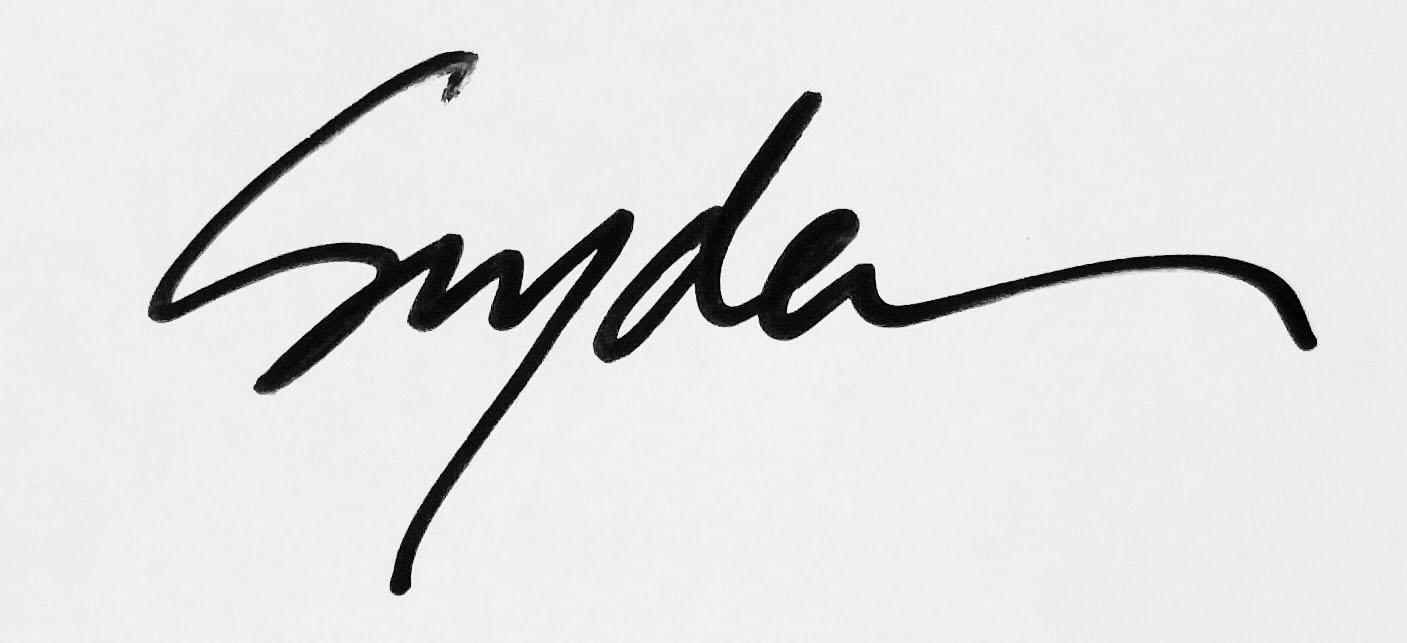 Andrew Snyder's Signature
