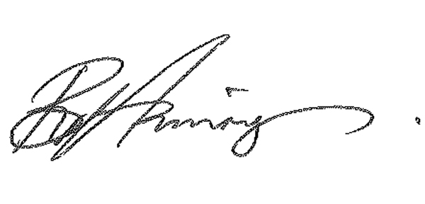 Barbara Hannigan's Signature