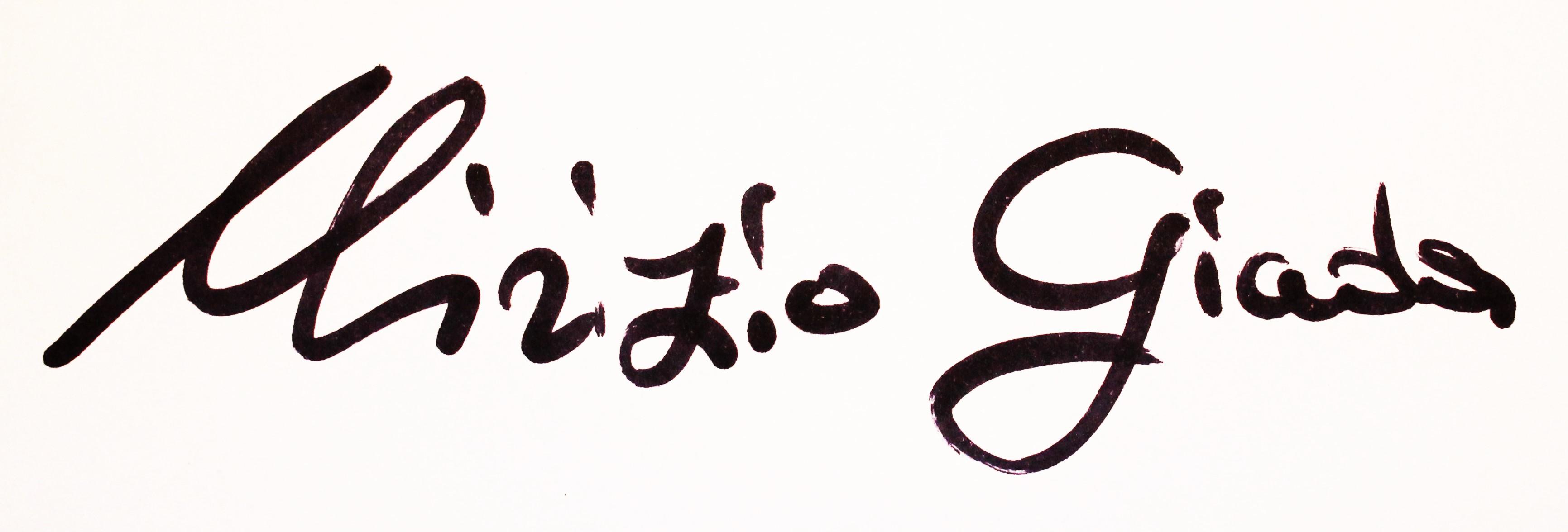Giada Mirizio's Signature