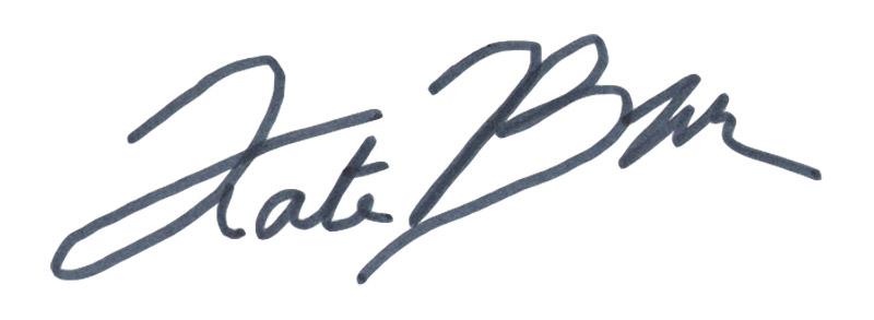 Kate Boyington's Signature