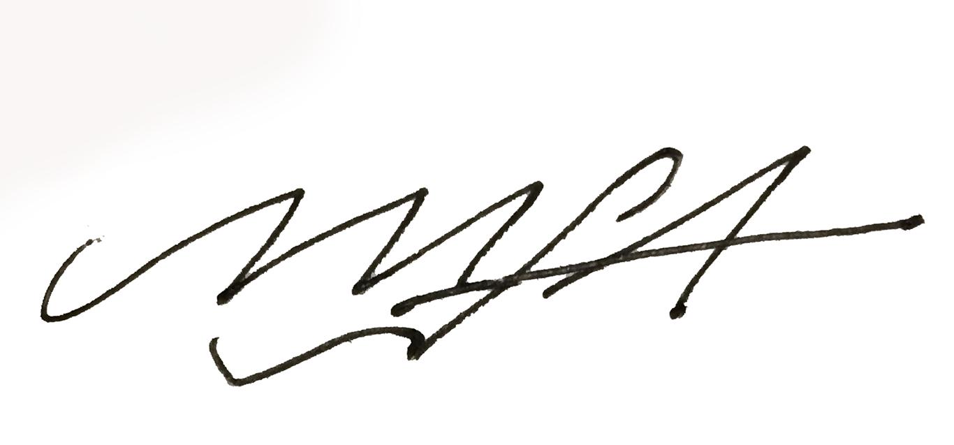 Marine Lewis's Signature