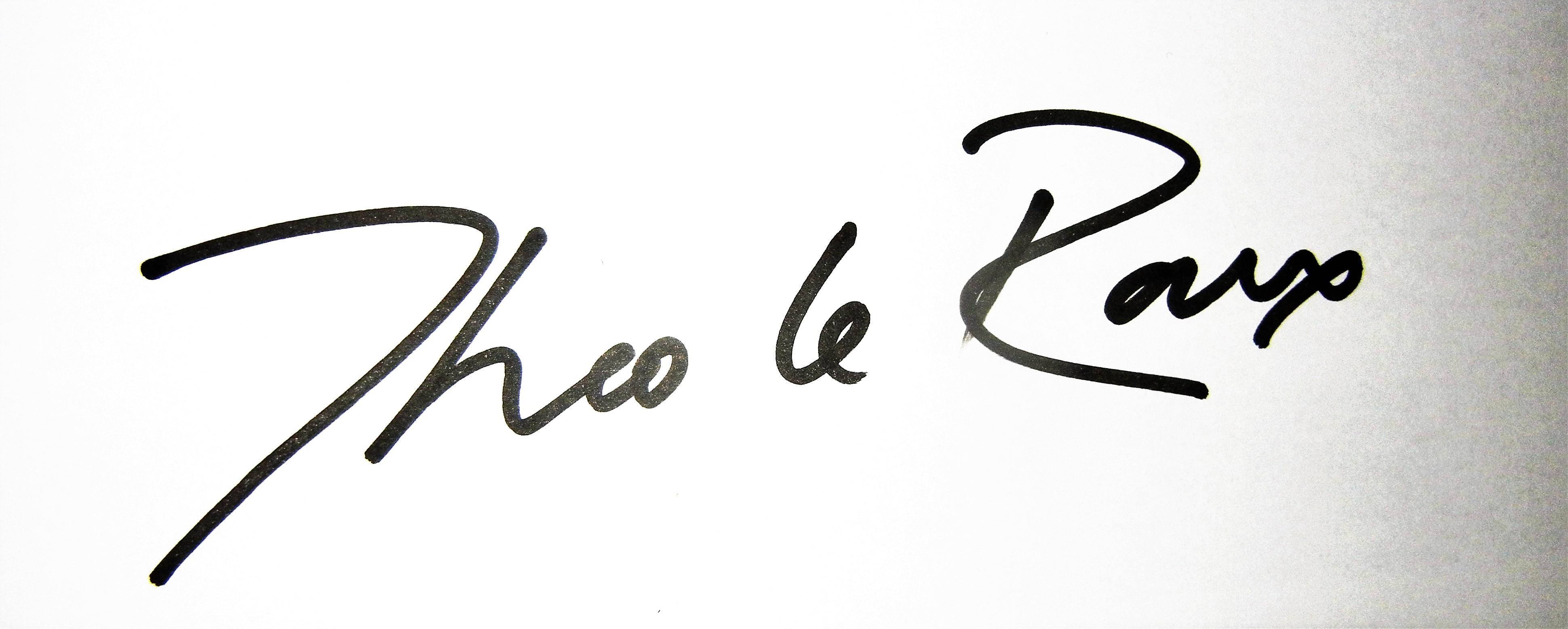 Theo le Roux's Signature