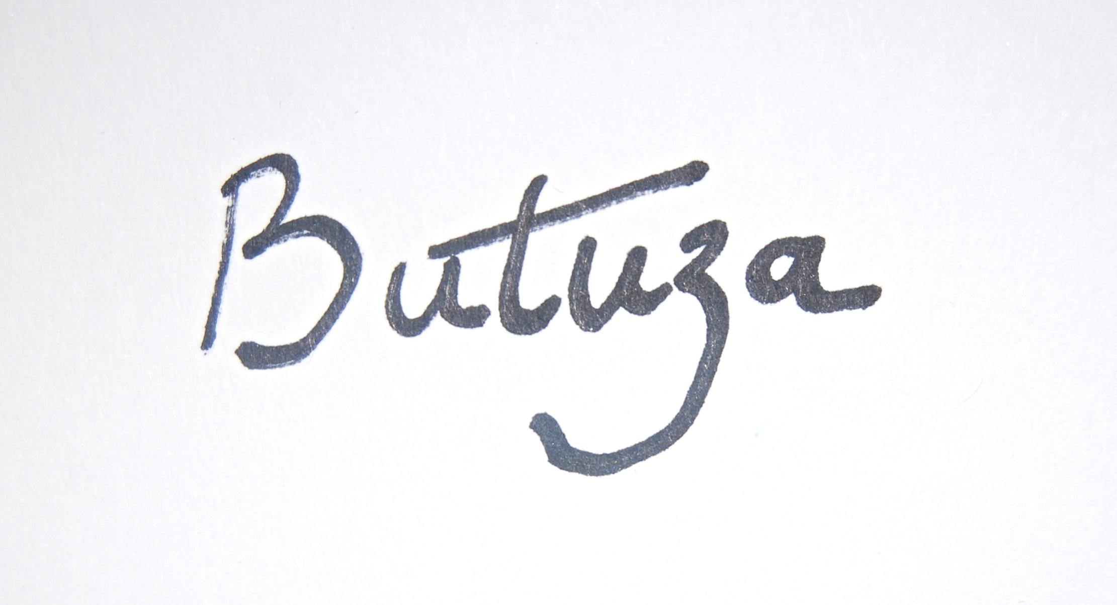 Cath Butuza's Signature