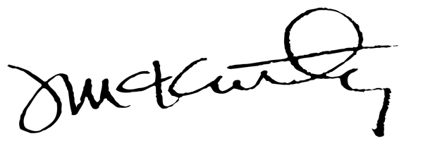 Jeff McKinley's Signature