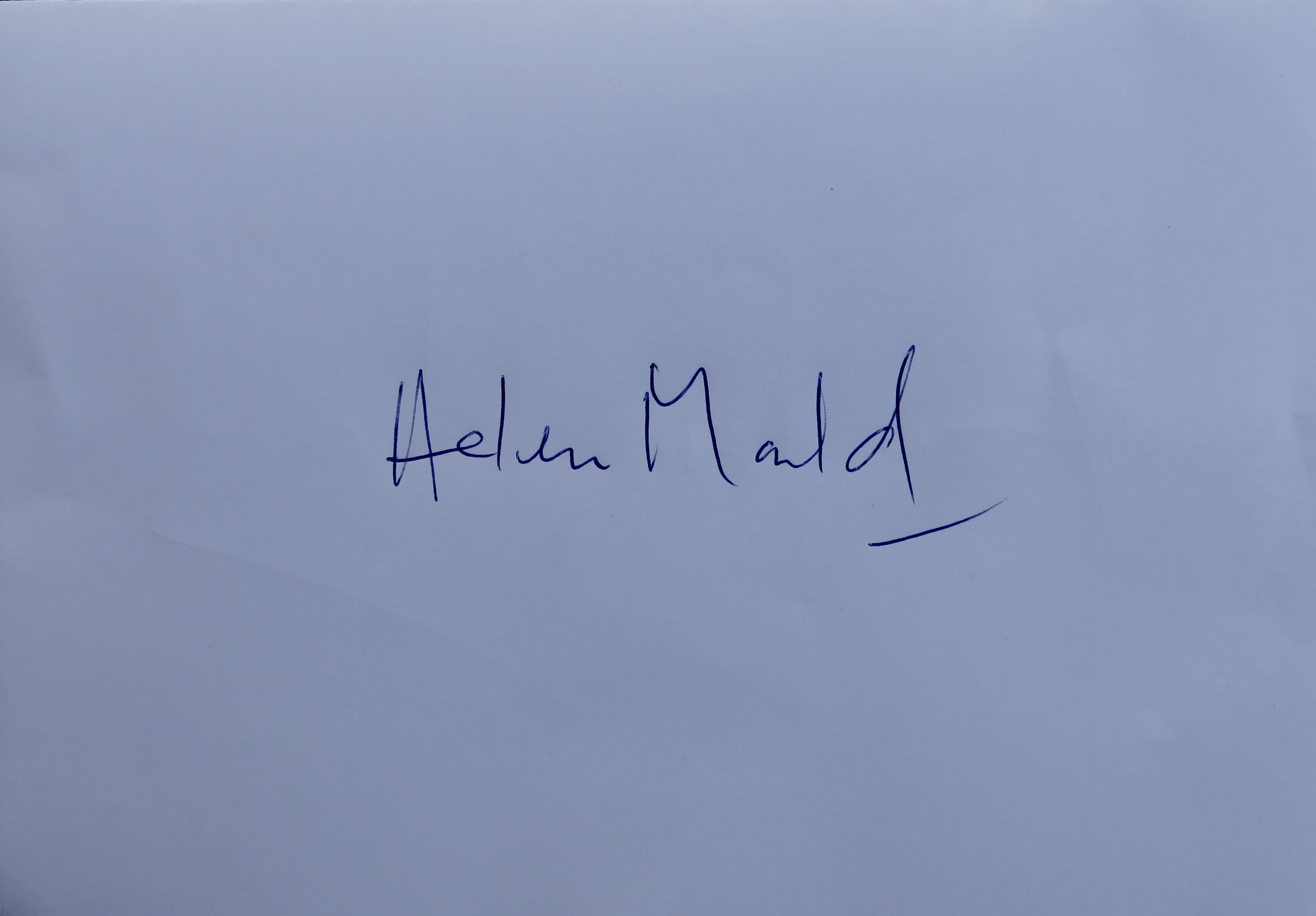Helen Mould's Signature