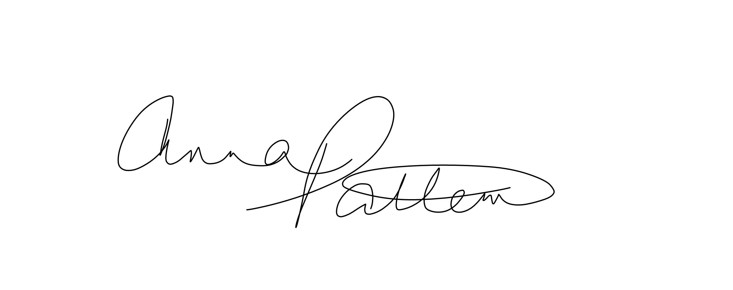 Anna Patten's Signature