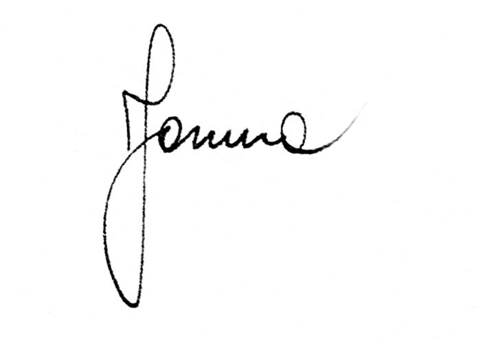 Yanina Monti's Signature