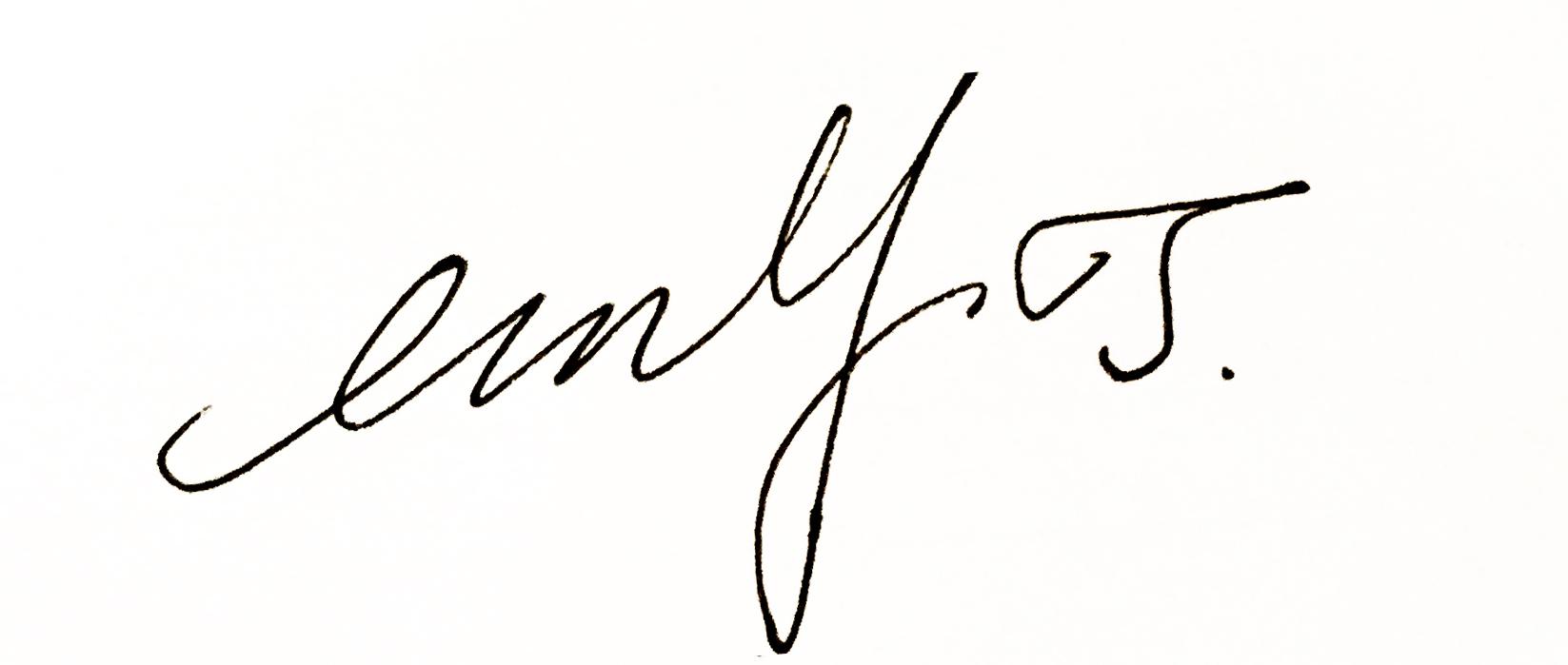 Emma .y. Jiang's Signature