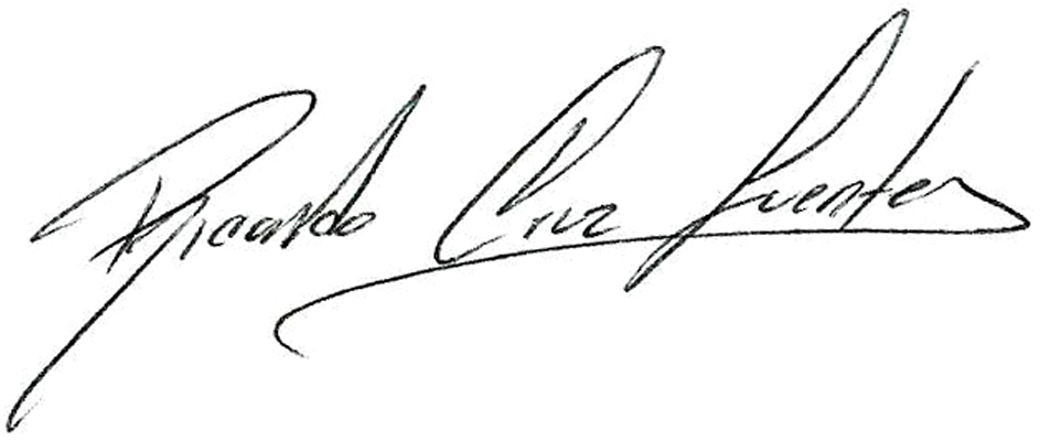 Ricardo Cruz Fuentes's Signature