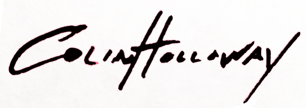 colin holloway's Signature