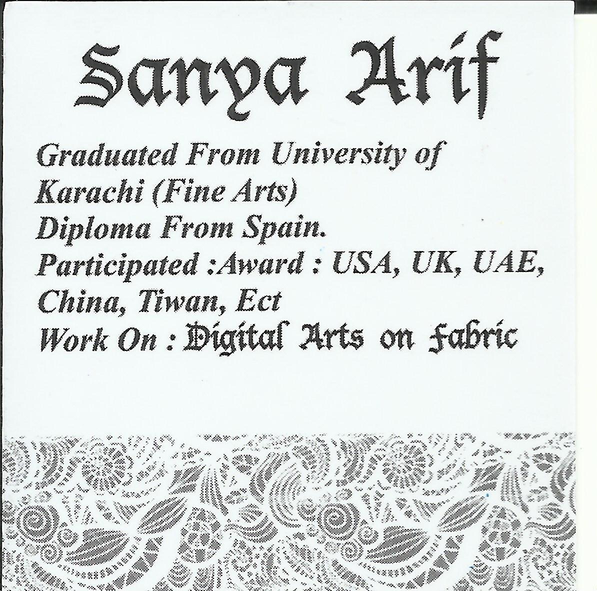 Sanya Arif's Signature