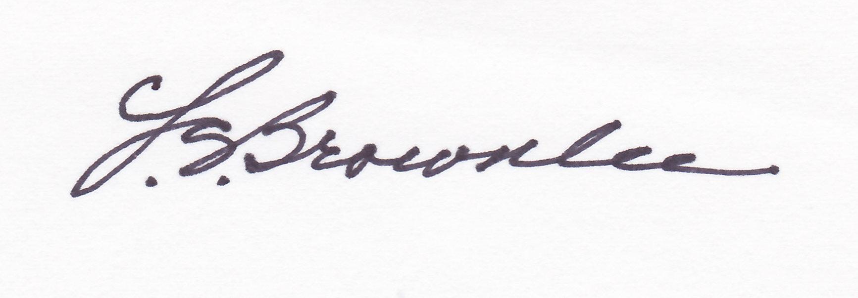 Leona S. Brownlee's Signature