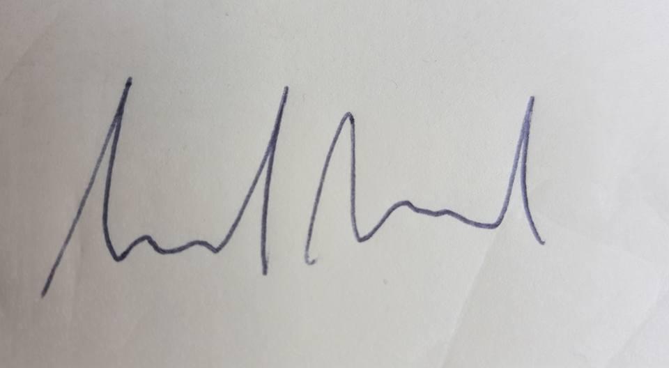 Hannah Farrell's Signature