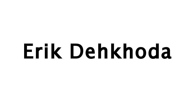 Erik Dehkhoda's Signature