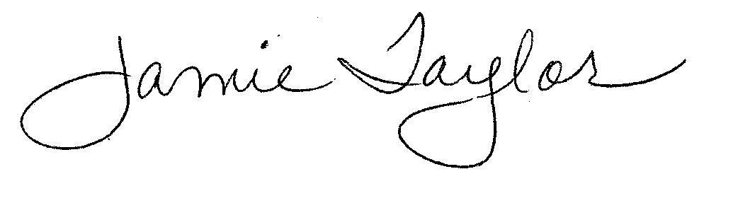 Jamie Taylor's Signature