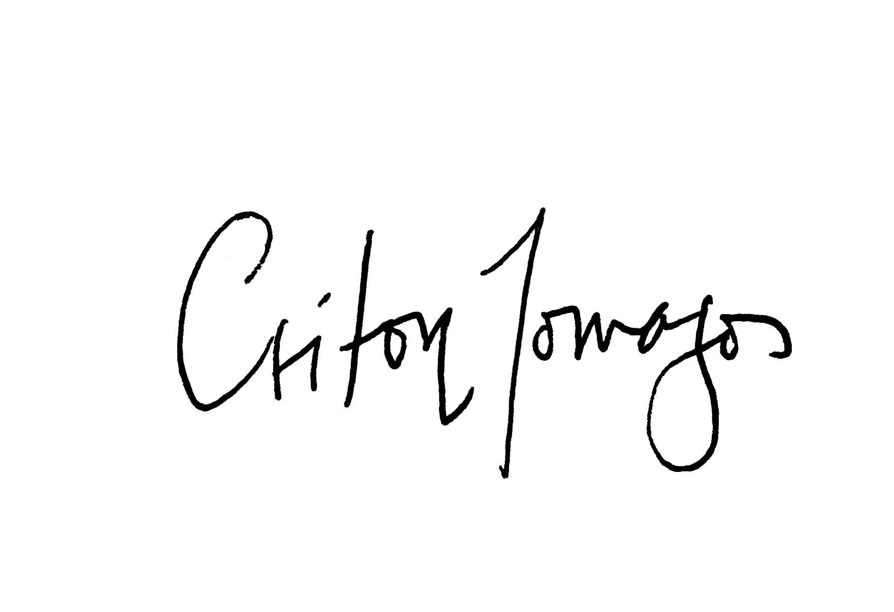Criton Tomazos's Signature