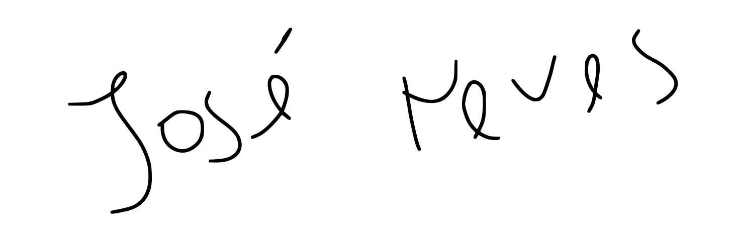 José Neves's Signature