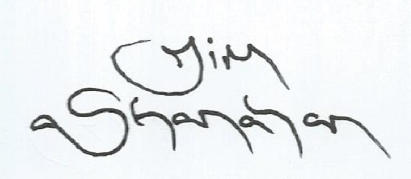 Jim Shanahan's Signature