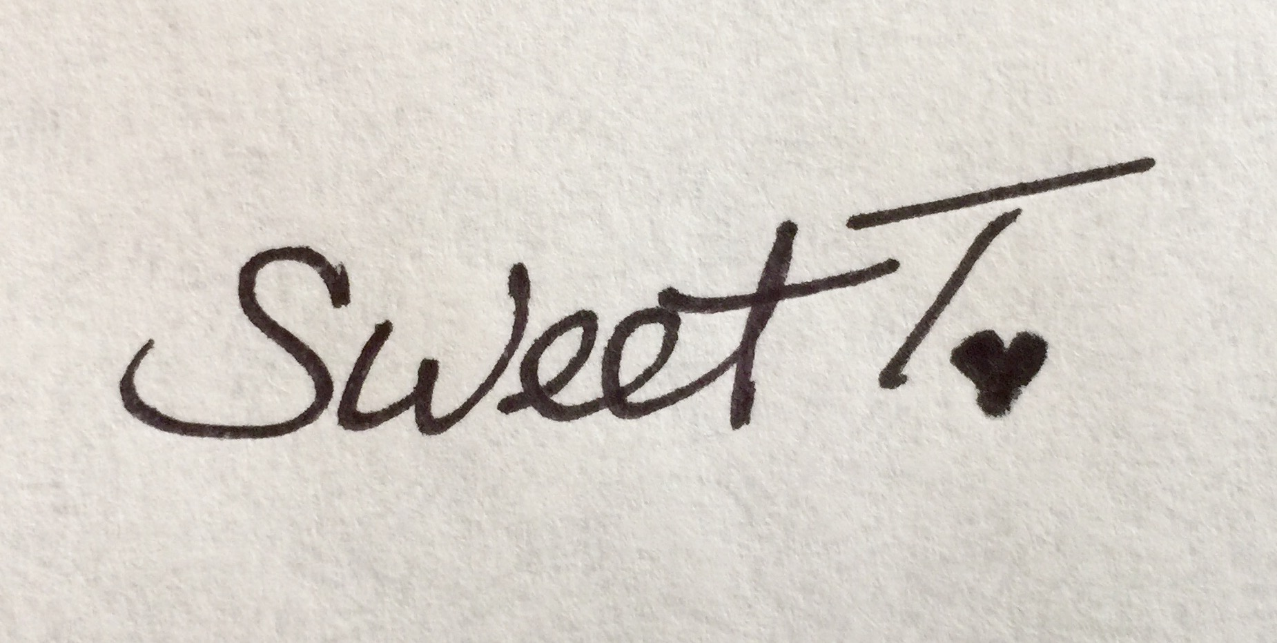 Sherry Tewell's Signature