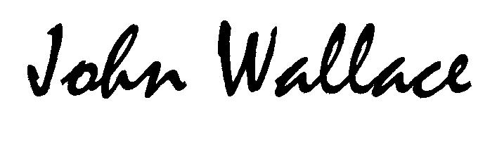 John Wallace's Signature