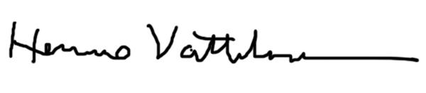 Hemmo Vattulainen's Signature