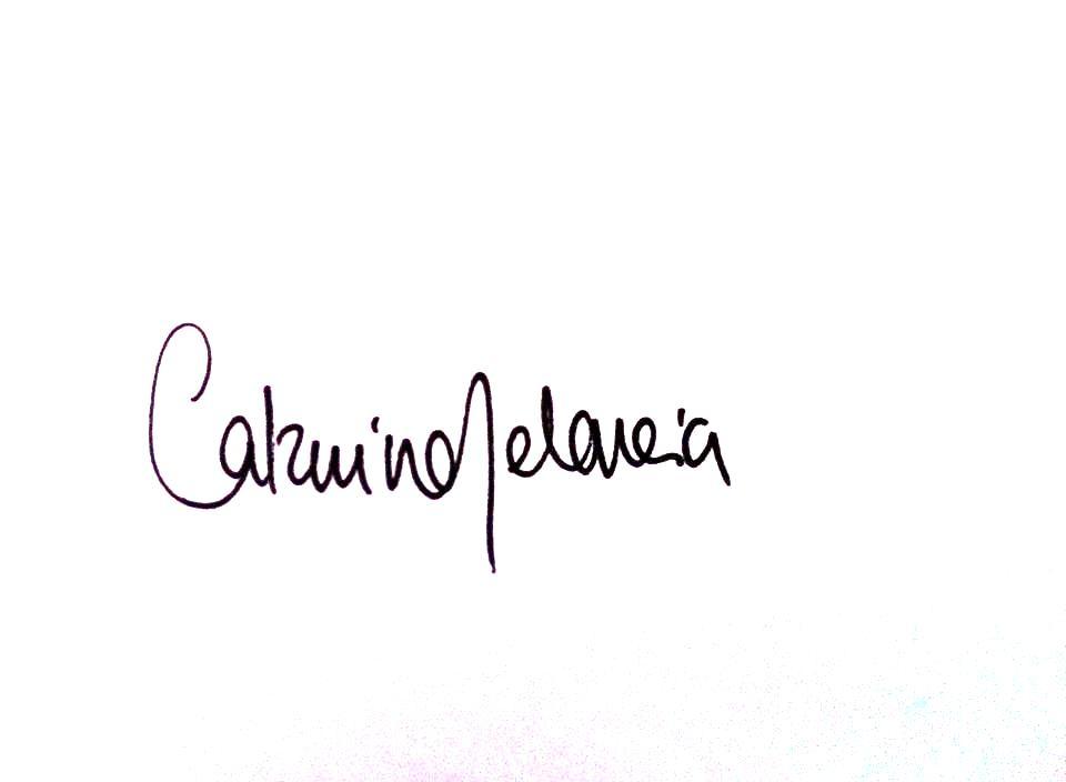 Catarina Melancia's Signature