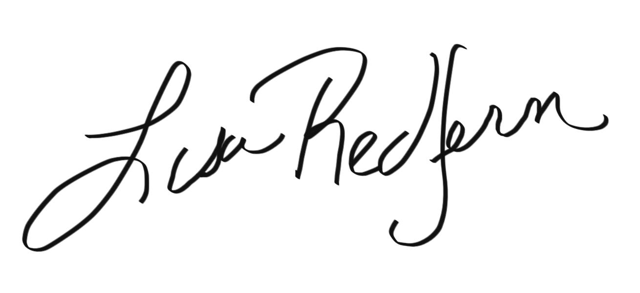 Lisa Redfern's Signature
