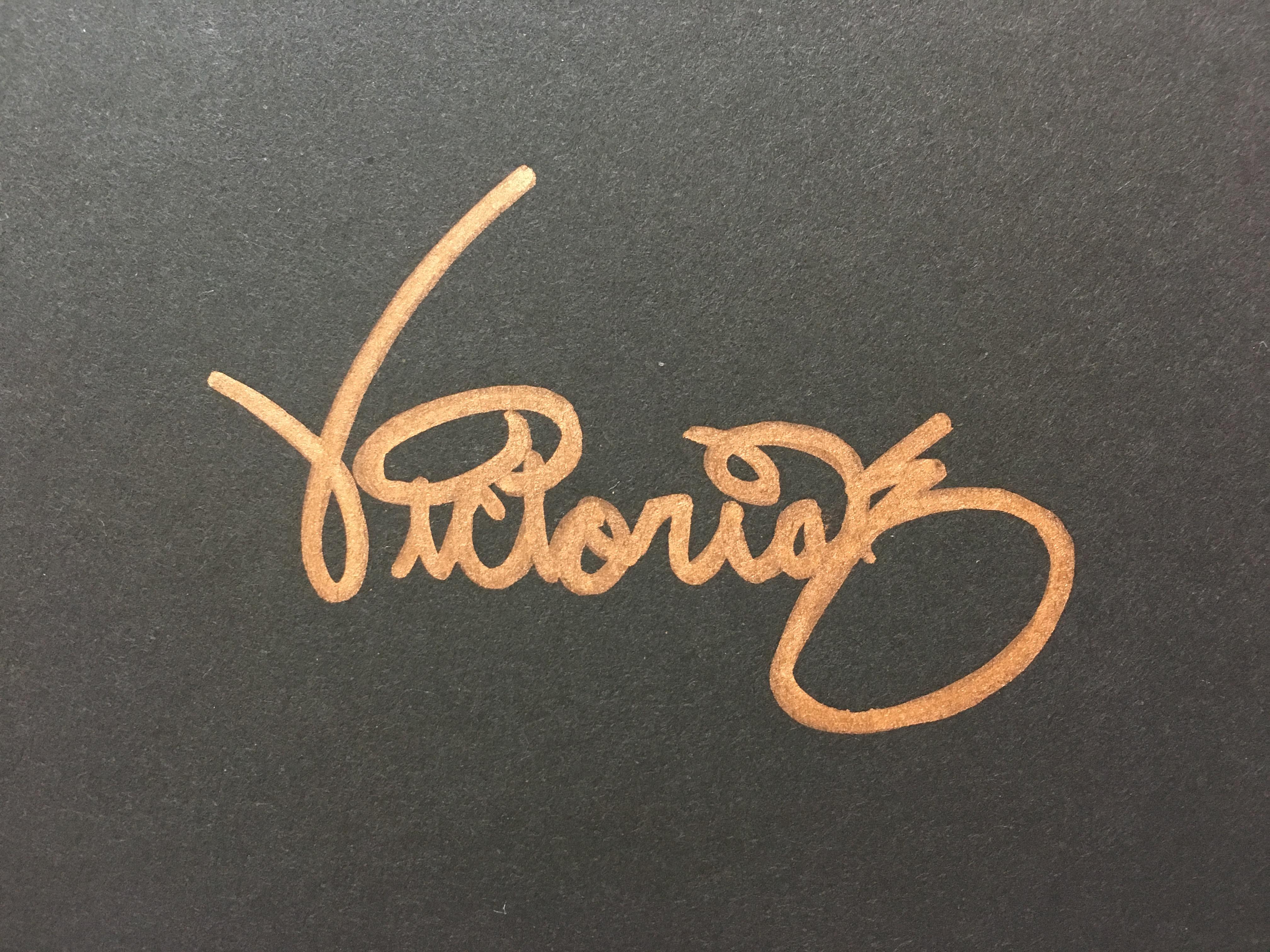 Victoria Kozlowski's Signature