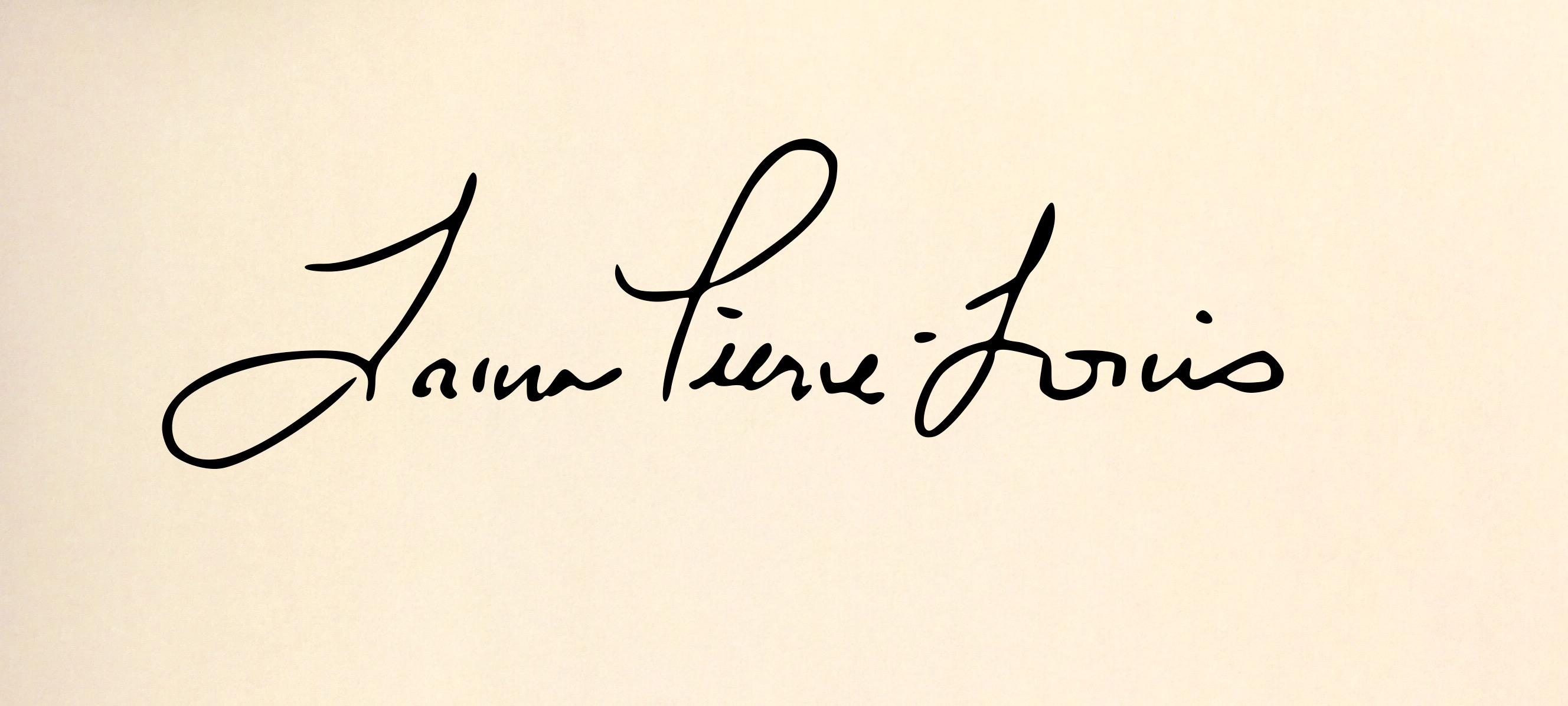 Laura Pierre-Louis's Signature