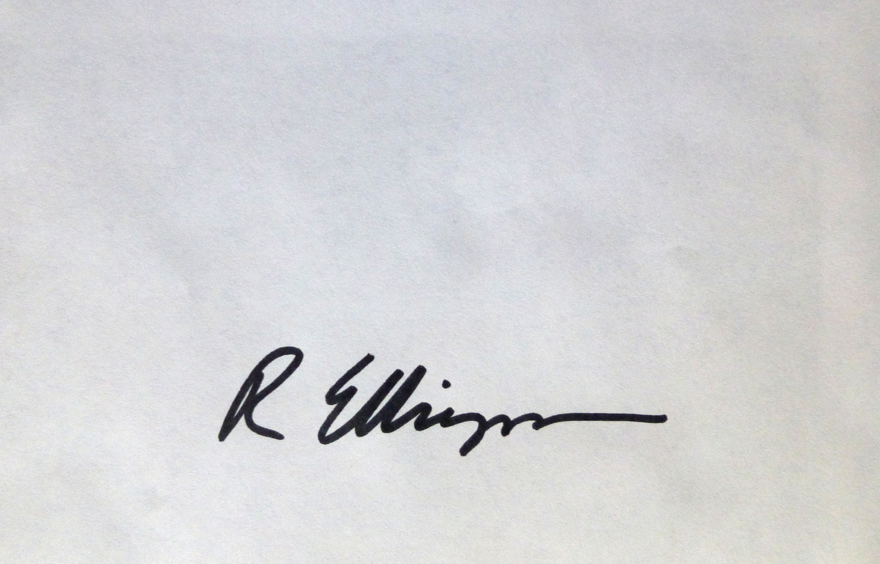 Ruth Ellingson's Signature