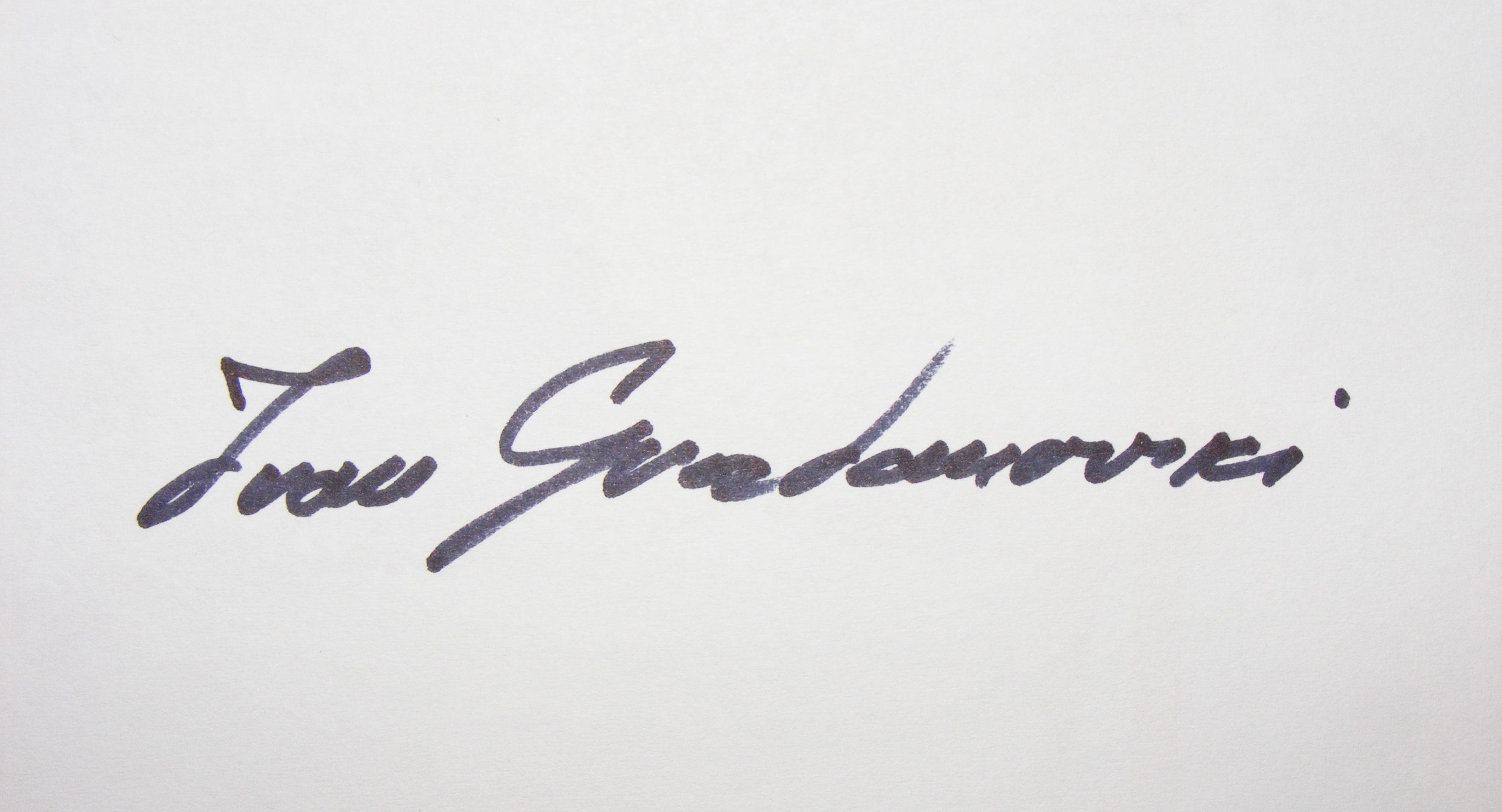 Ivan Grozdanovski's Signature