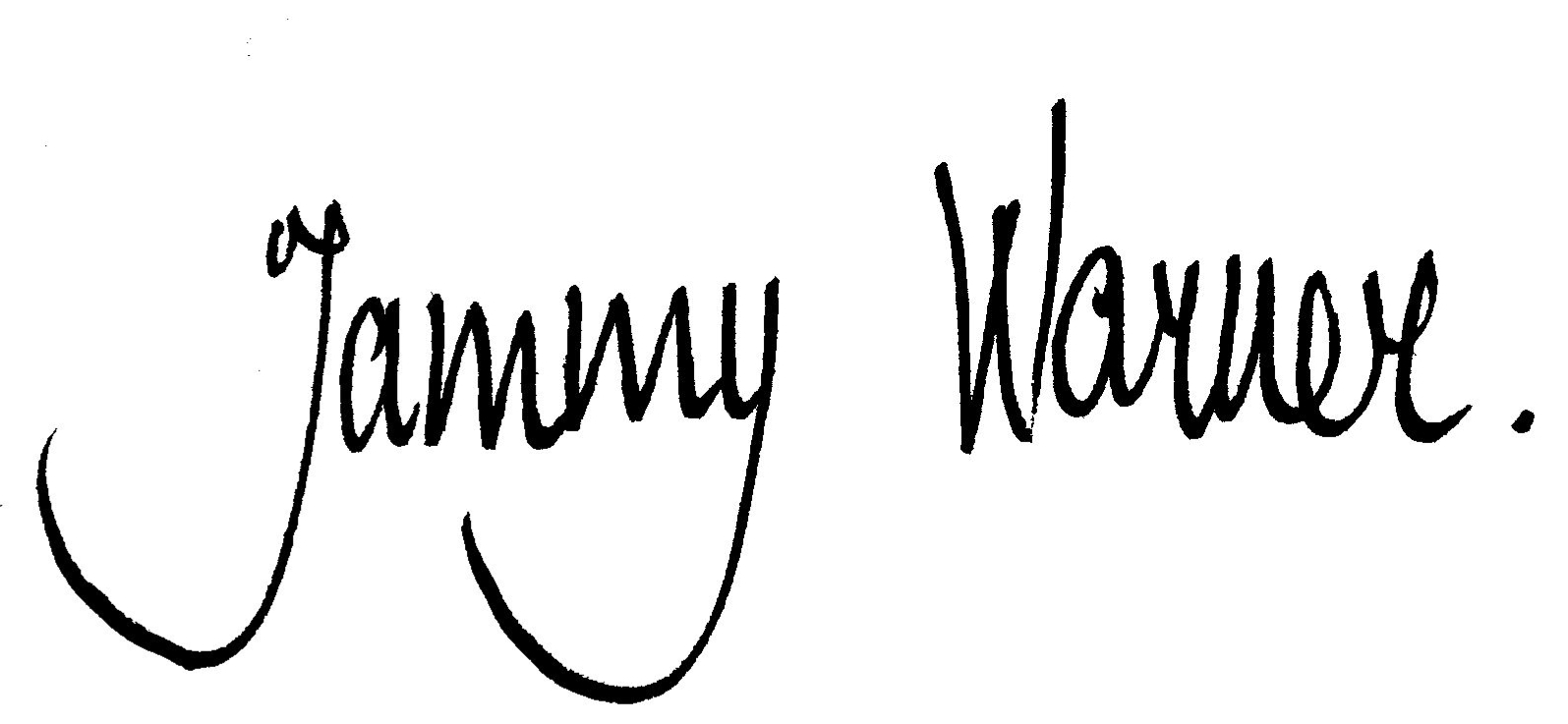 Tammy Warner's Signature