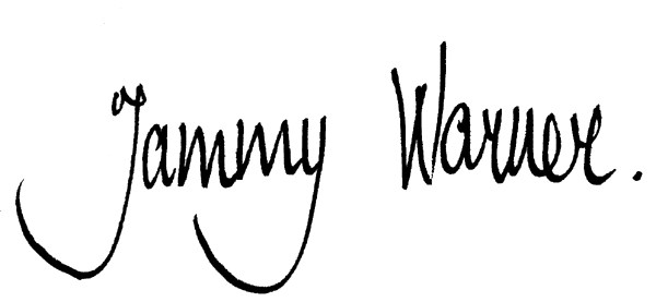 Tammy Warner's Signature