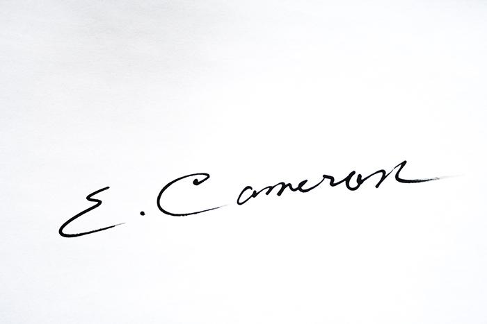 Ellen Cameron's Signature