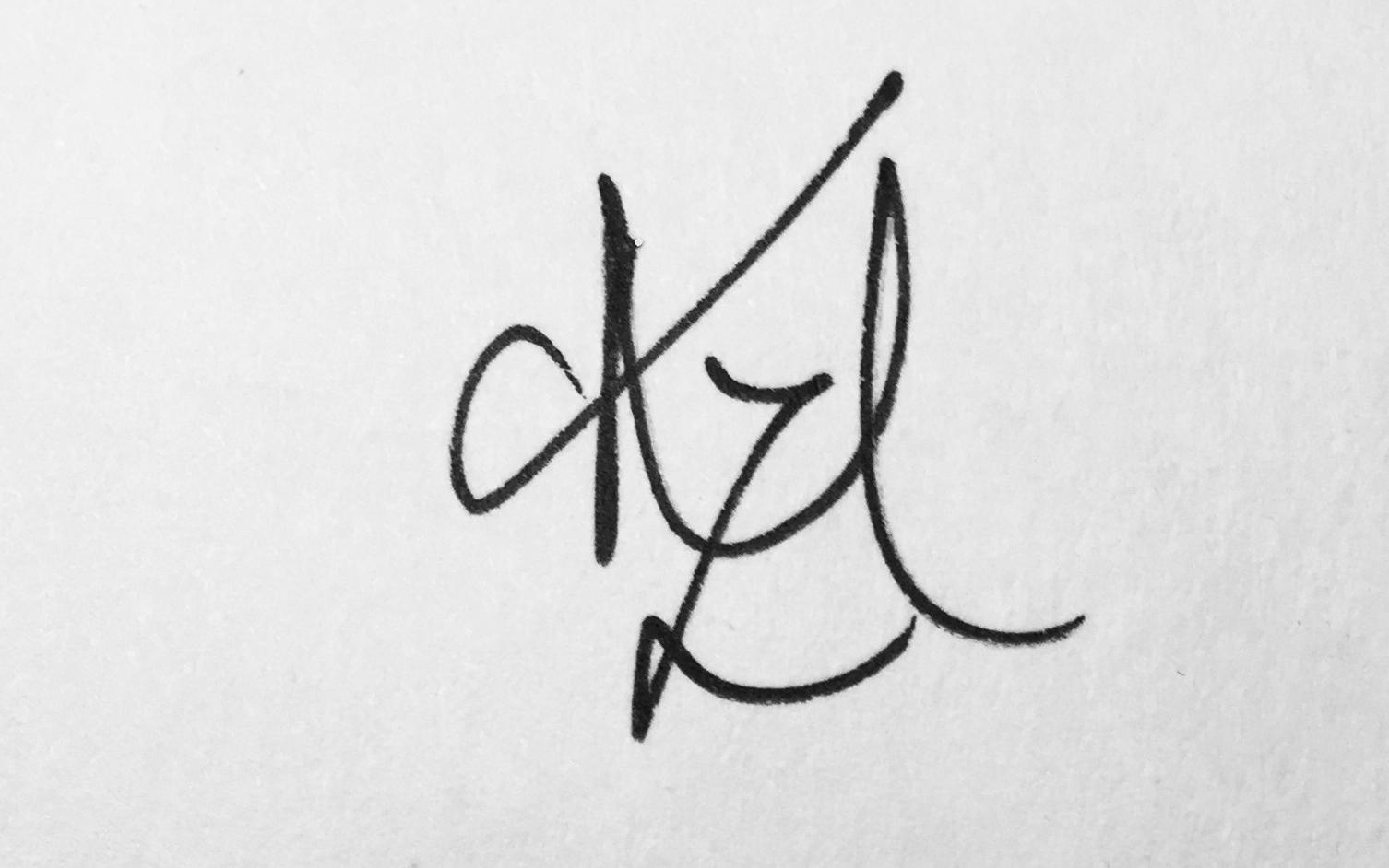 Kristin Moger's Signature