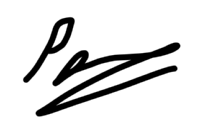 philip brown's Signature