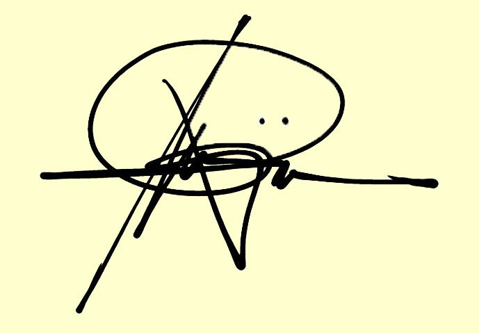 ricky mojica's Signature