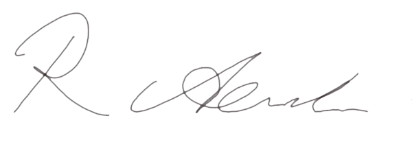Ray Alexander's Signature
