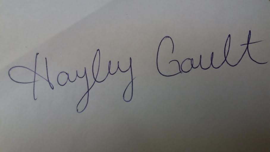 Hayley Gault's Signature