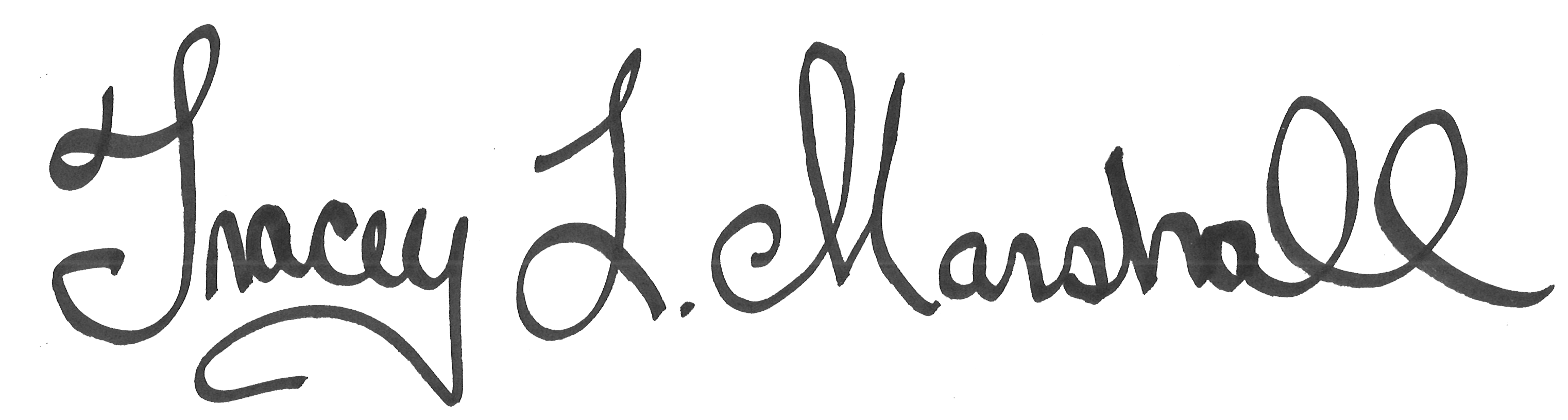 Tracey L. Marshall's Signature