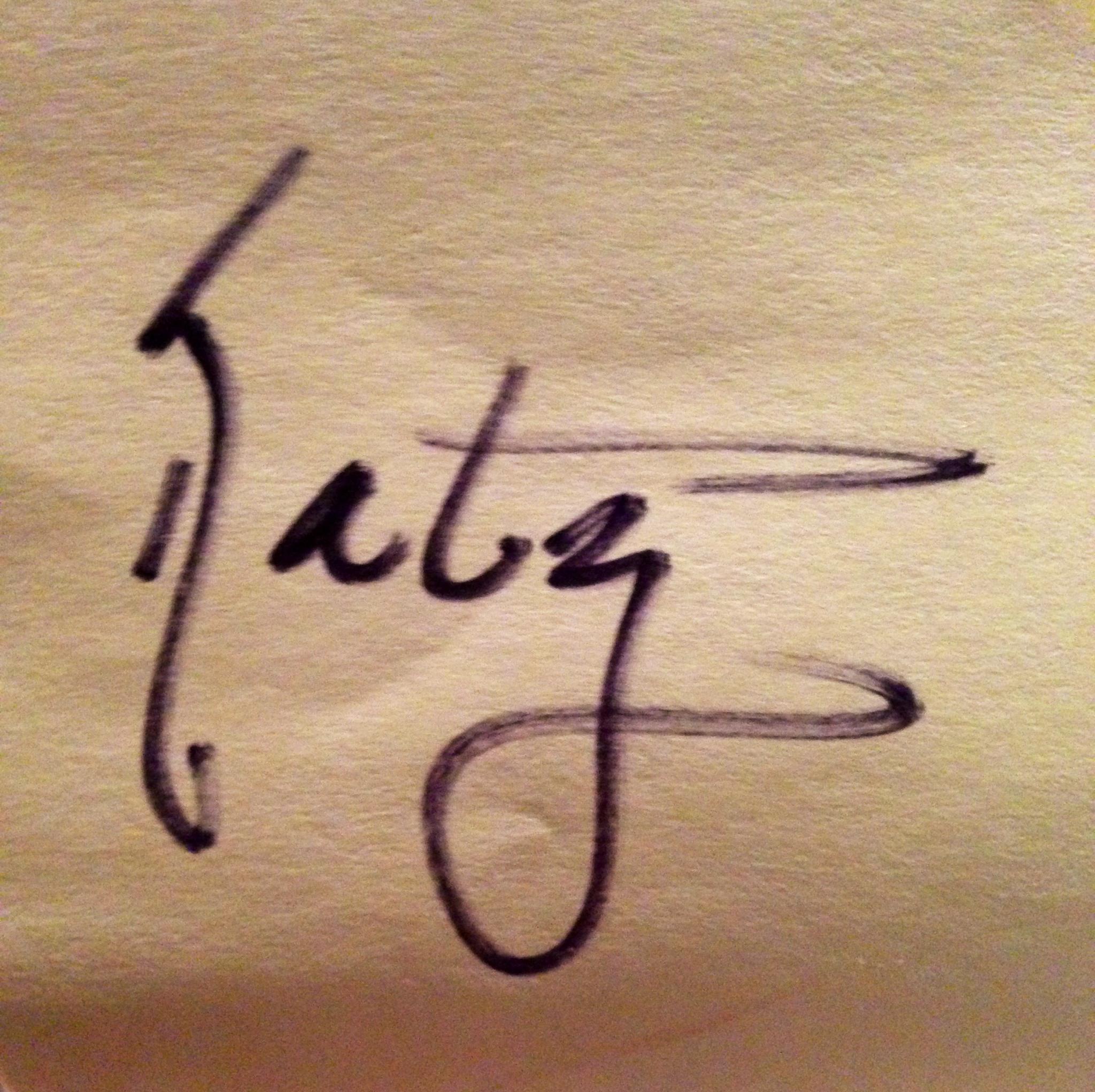 Kathy Linden's Signature