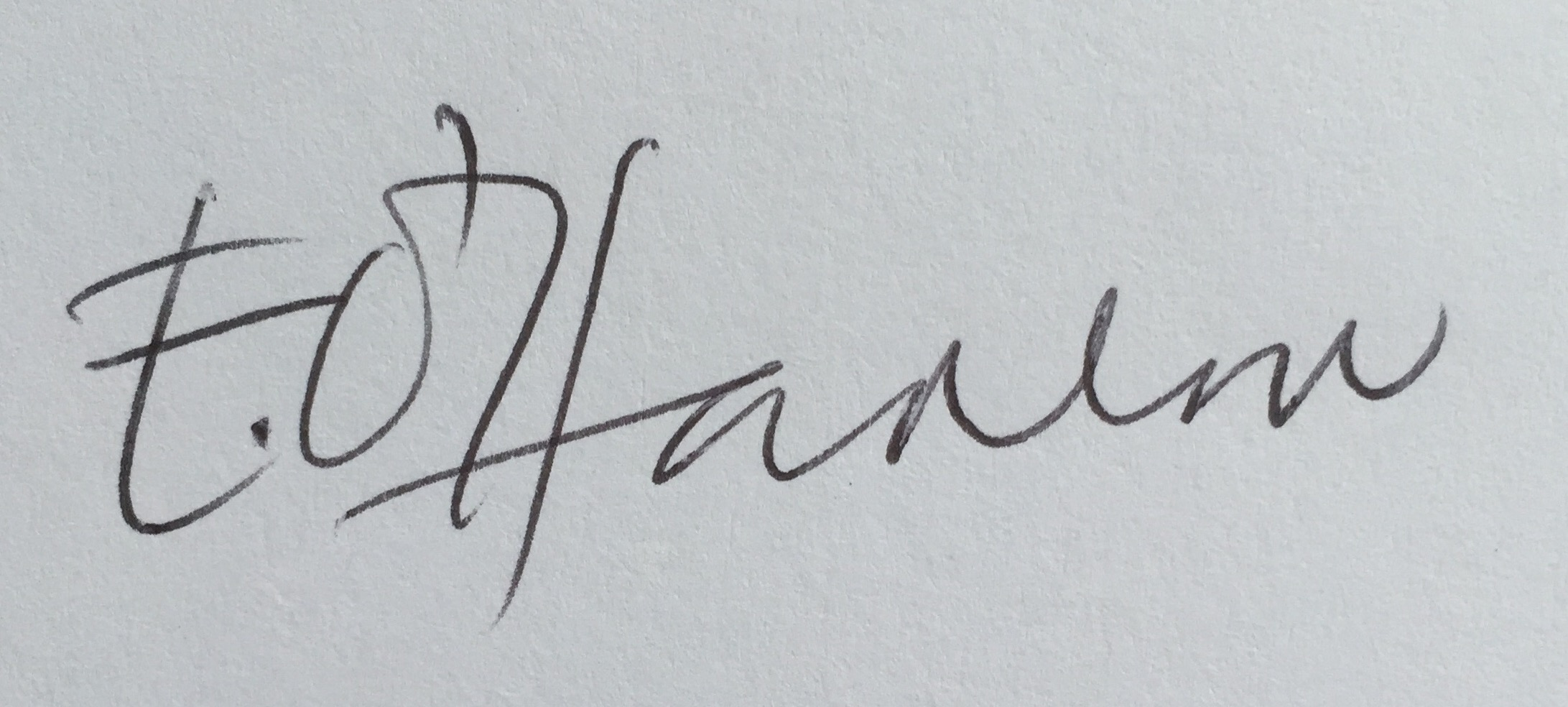 Elvie O'Hanlon's Signature