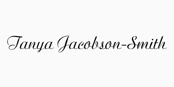 Tanya Jacobson-Smith's Signature