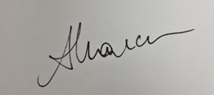 Anda Marcu's Signature
