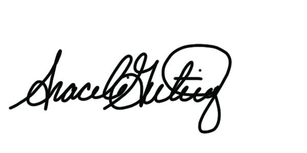 Araceli Gutierrez's Signature