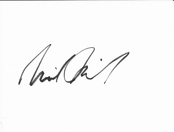 Michael McNeil's Signature