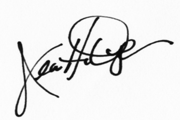 Jeanette Dyer's Signature