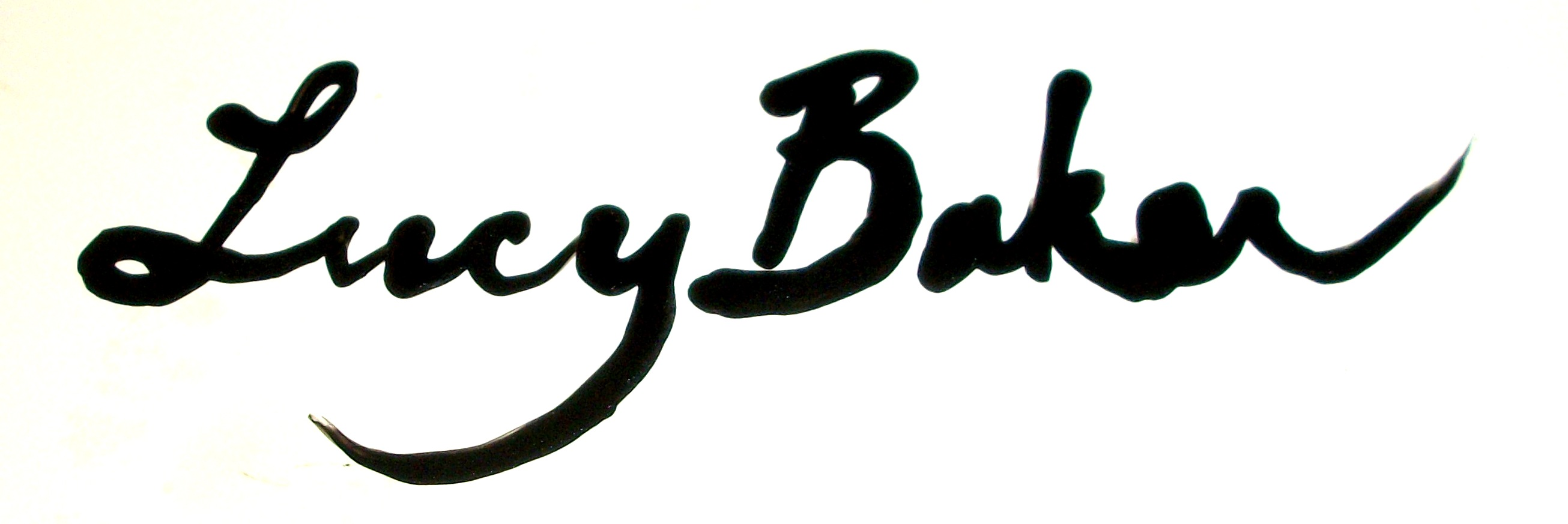 Lucy Baker's Signature
