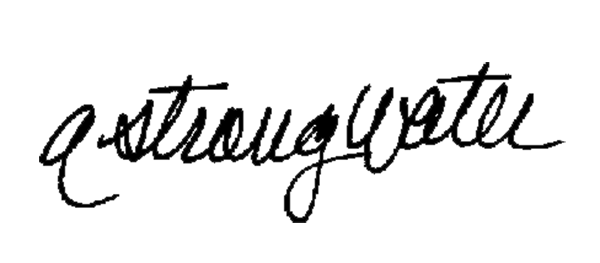 Andrea Strongwater's Signature