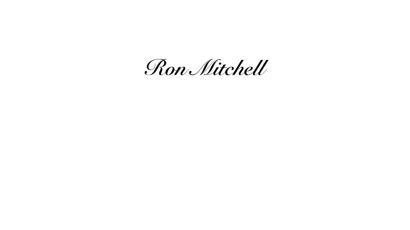 Ron Mitchell's Signature